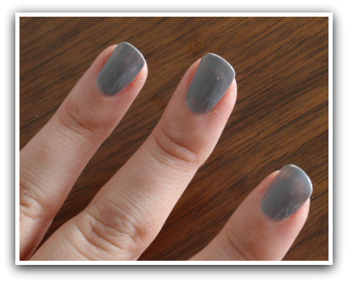 Sephora by OPI - Frankly, I Don't Give A-dam - flaws