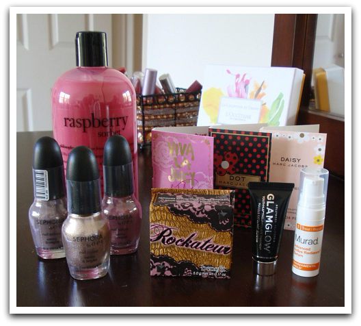 Beauty Hauls - Sephora Online Order and BeautyBrands Purchases - Sephora