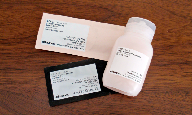 Birchbox - June 2014 - Davines Love Hair Products