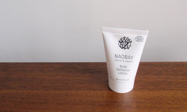 Birchbox - July 2014 - Naobay Body Radiance Lotion