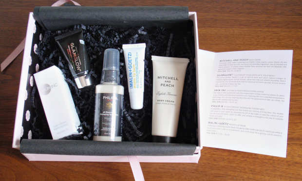 Glossybox - July 2014 - contents