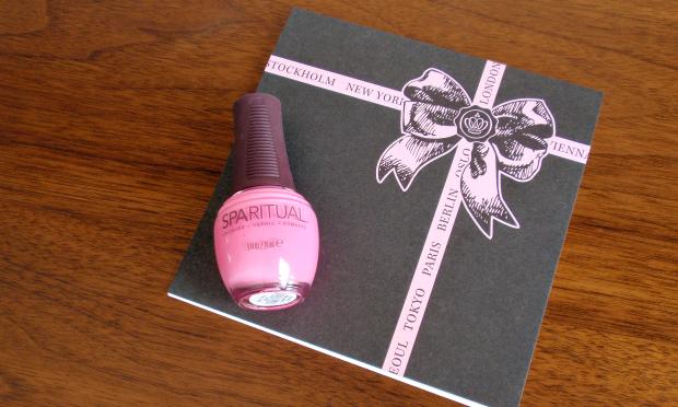 Glossybox - August 2014 - Sparitual Nail Laquer